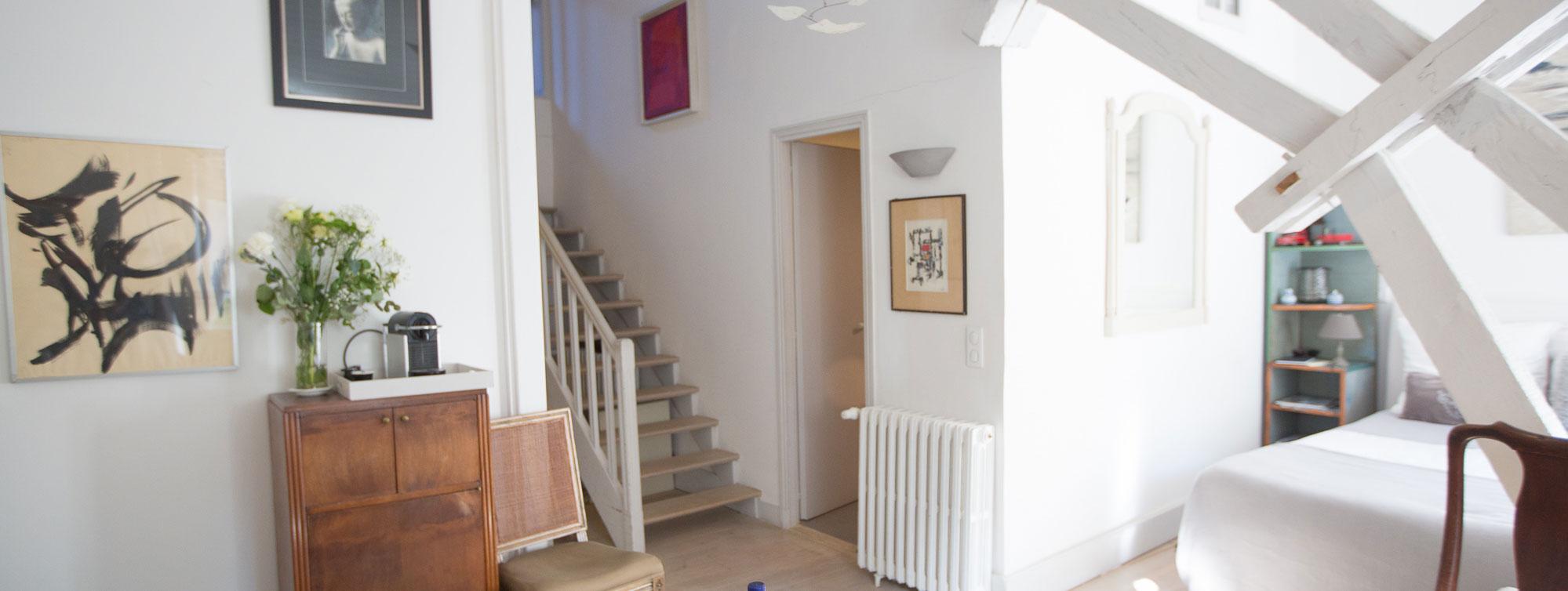Atelier d'Artiste - Chambre d'hôte Chateau de Maumont ©Samuel La Clef - Chateau de Maumont