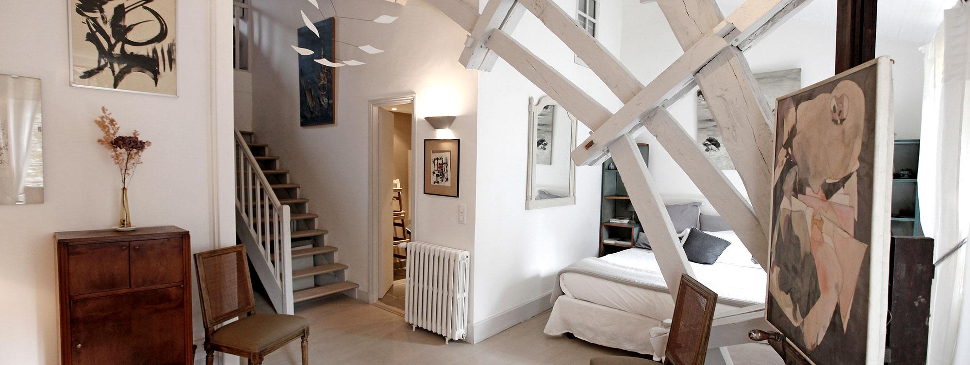 Atelier d'Artiste - Chambre d'hôte Chateau de Maumont ©J-D Guillou-Chateau de Maumont