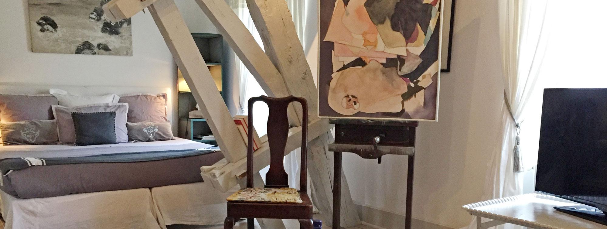Atelier d'Artiste - Chambre d'hôte Chateau de Maumont ©Chateau de Maumont