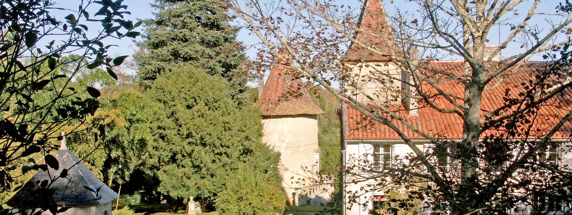 Côté Logis ©E. Strauss - Chateau de Maumont