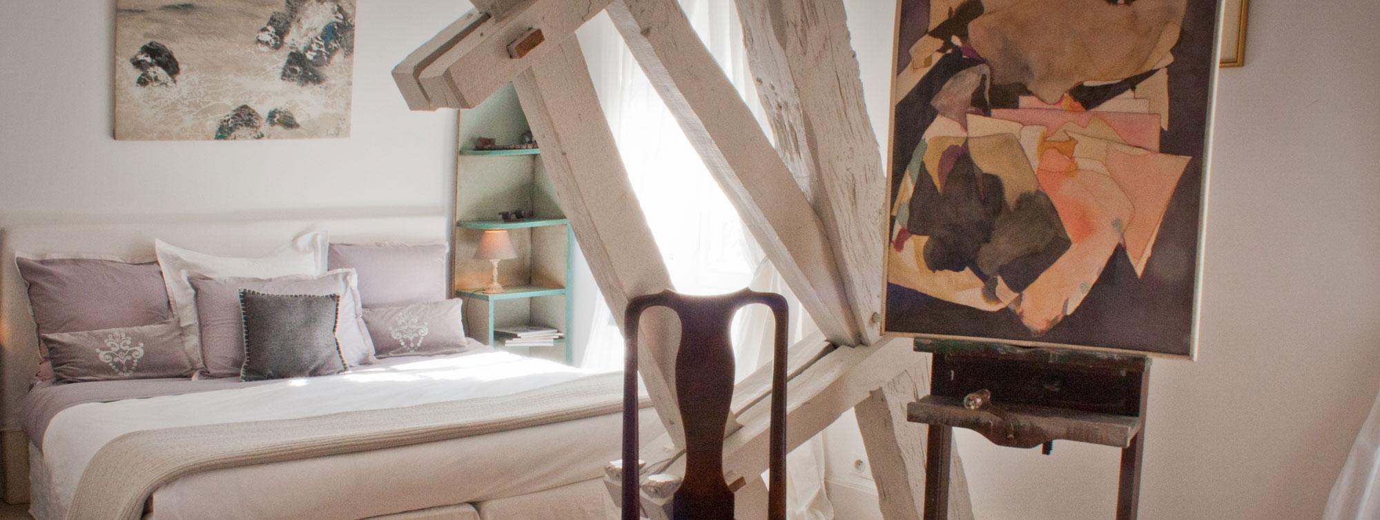 Atelier d'Artiste - Chambre d'hôte Chateau de Maumont ©S.Bast - Chateau de Maumont