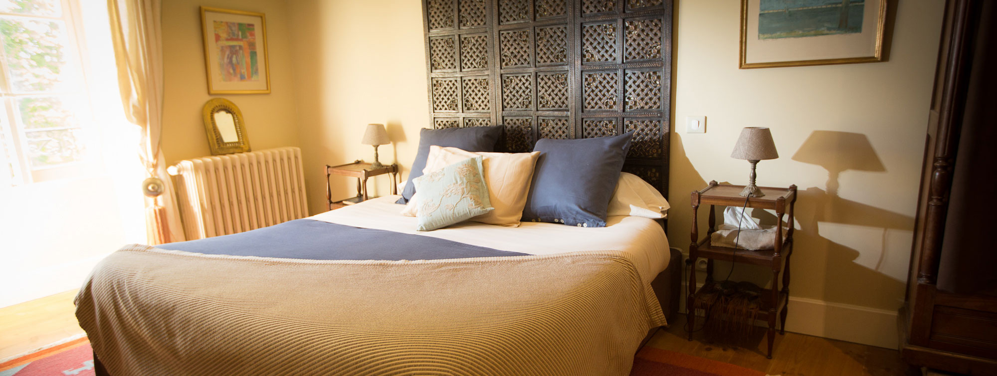 Chambres et et suites d'hôtes du Château de Maumont ©Chateau de Maumont