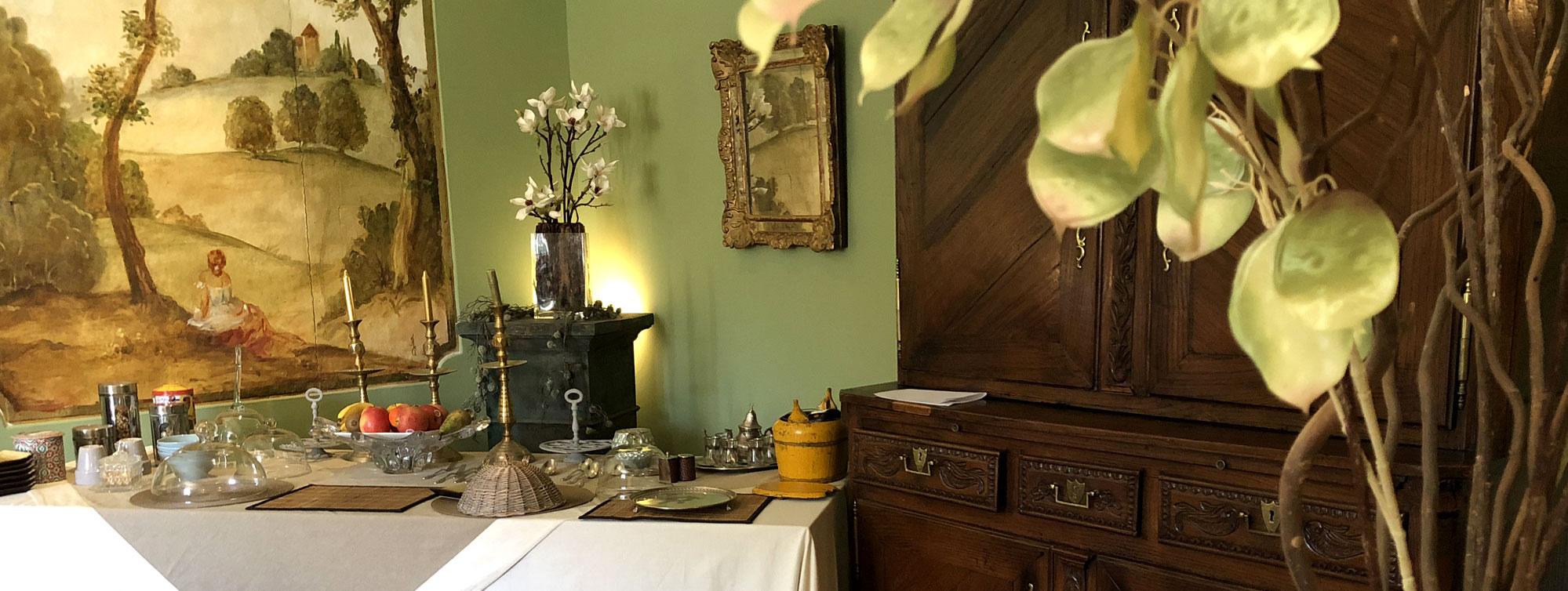 Chambres et et suites d'hôtes du Château de Maumont ©Samuel La Clef - Chateau de Maumont