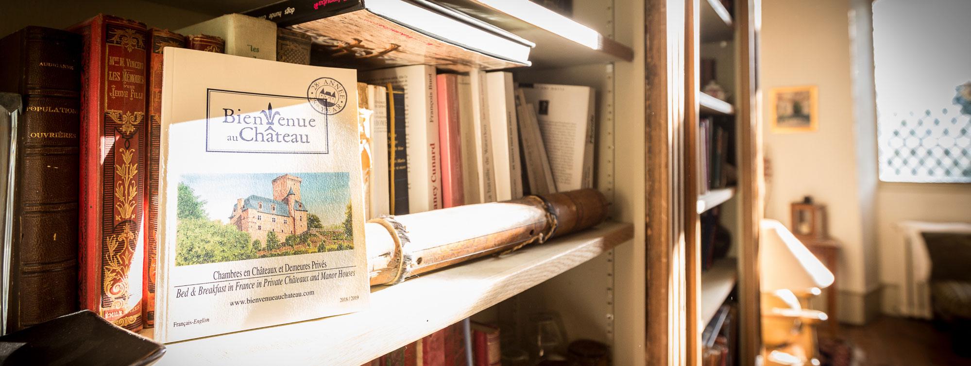 Chambres et et suites d'hôtes du Château de Maumont ©S.La Clef-Chateau de Maumont