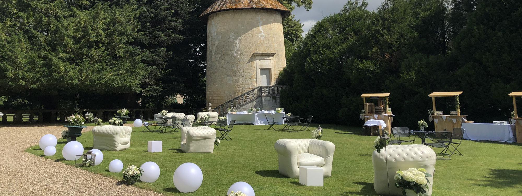 Chateau de Maumont - Mariage ©Chateau de Maumont