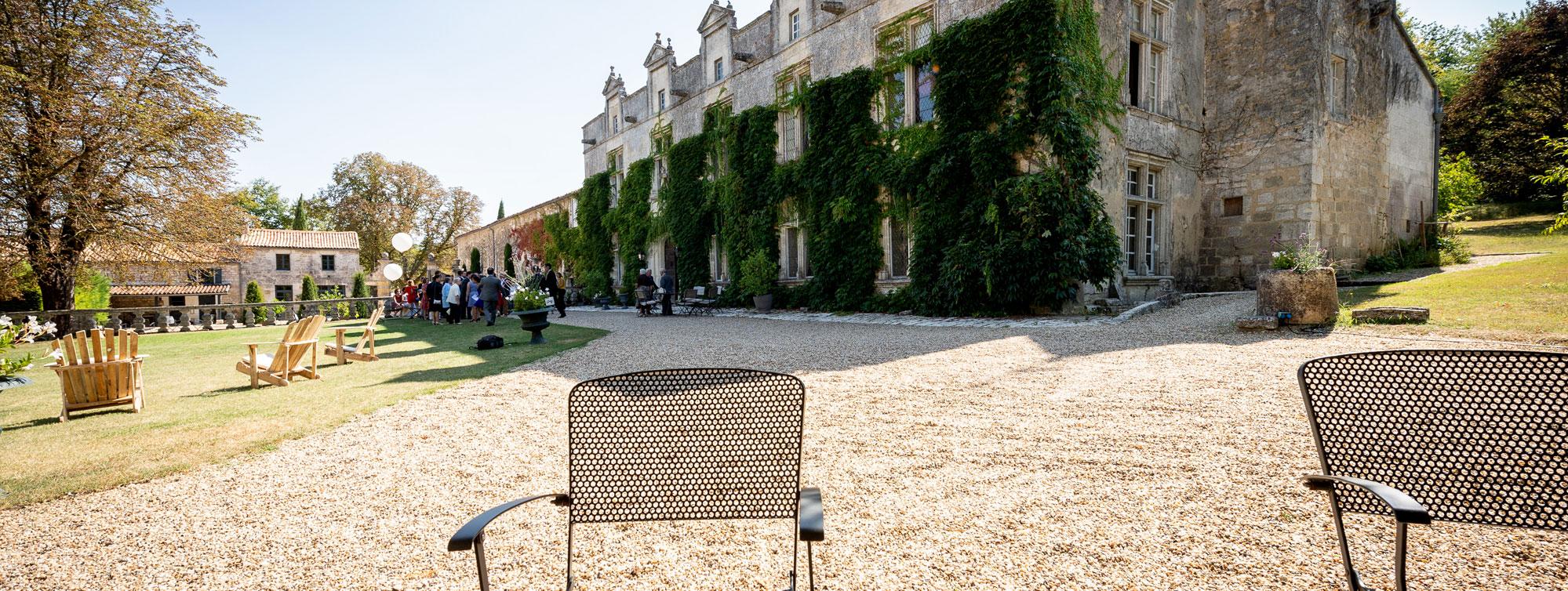 Chateau de Maumont : réceptions, anniversaires, cocktails, événements privés ©F.Selier - Chateau de Maumont