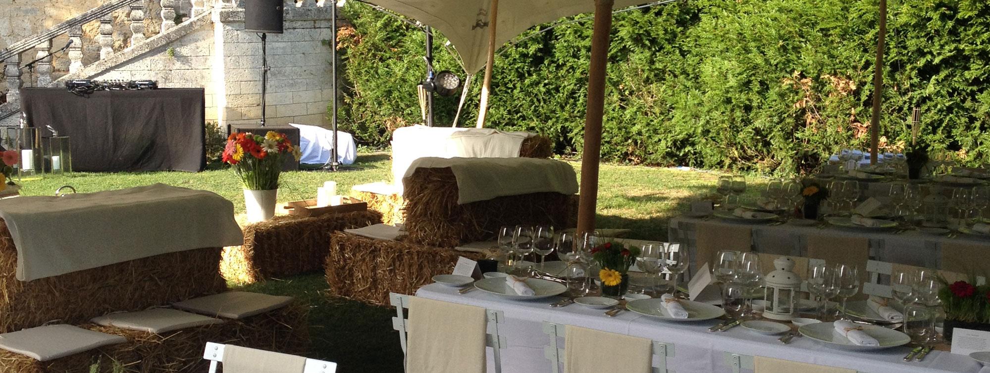Chateau de Maumont : réceptions, anniversaires, cocktails, événements privés ©Chateau de Maumont