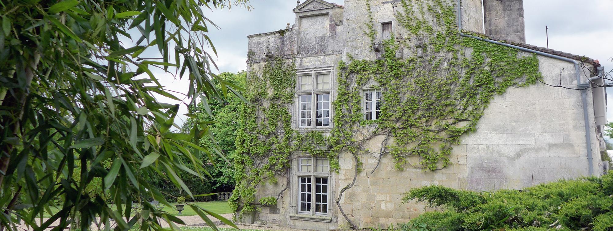 Maumont façade ouest ©Chateau de Maumont