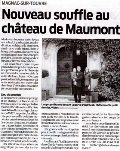 Nouveau souffle au Château de Maumont